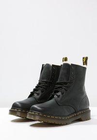 Dr. Martens - 1460 SERENA - Lace-up ankle boots - black - 3