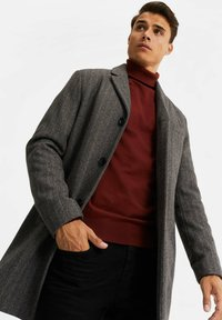 WE Fashion - MANTEL - Classic coat - blended dark grey - 4