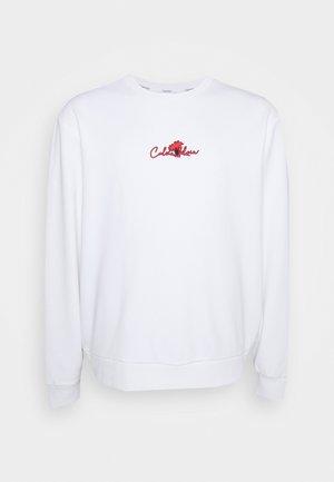 SUMMER CENTER LOGO - Sweatshirt - white