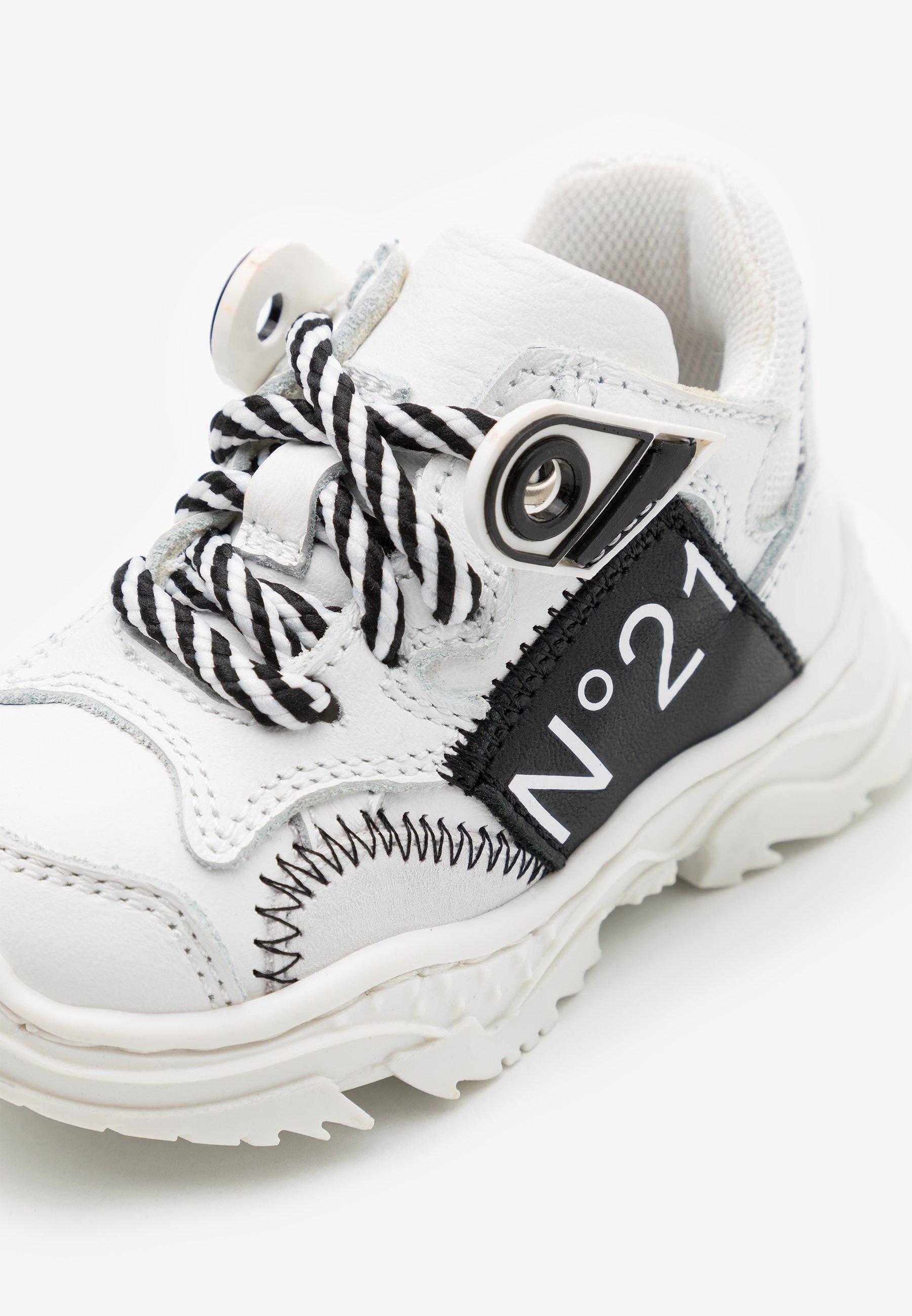 N°21 RUNNING  - Joggesko - white /tan