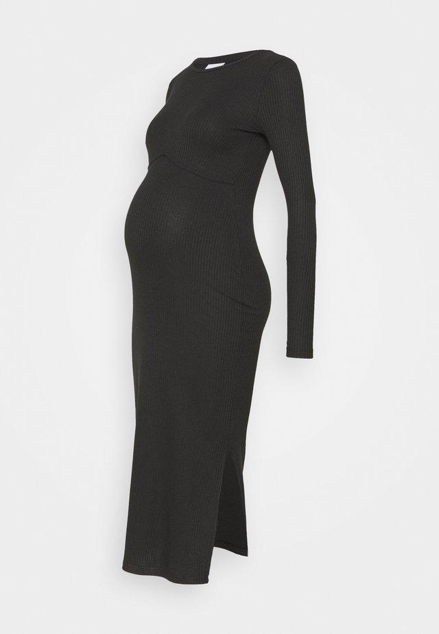 DRESS - Jerseykjoler - black