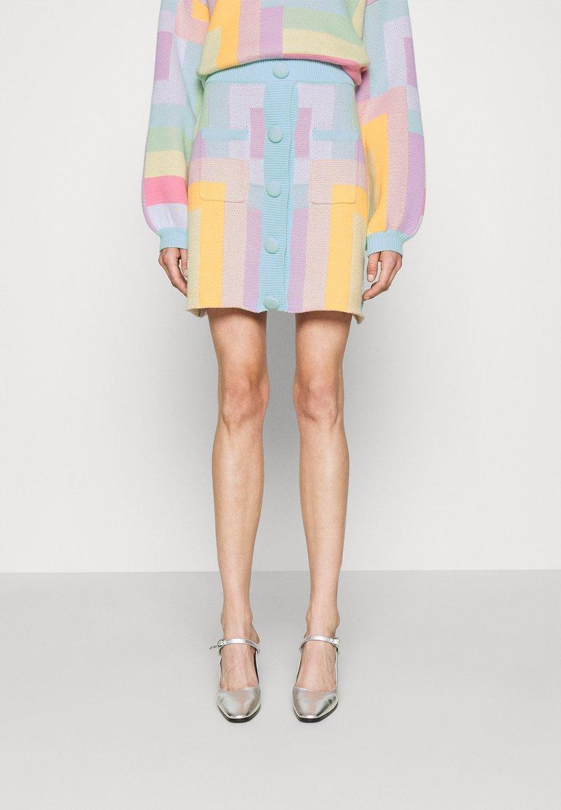 Olivia Rubin - HADLEY - Mini skirt - geometric