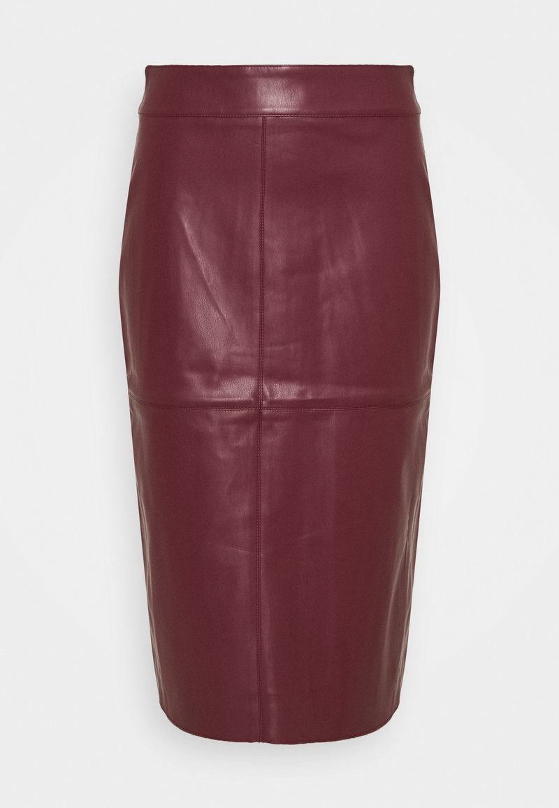 Dorothy Perkins - MIDI SKIRT - Pencil skirt - purple