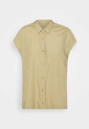 RACHEL - Button-down blouse - green bark