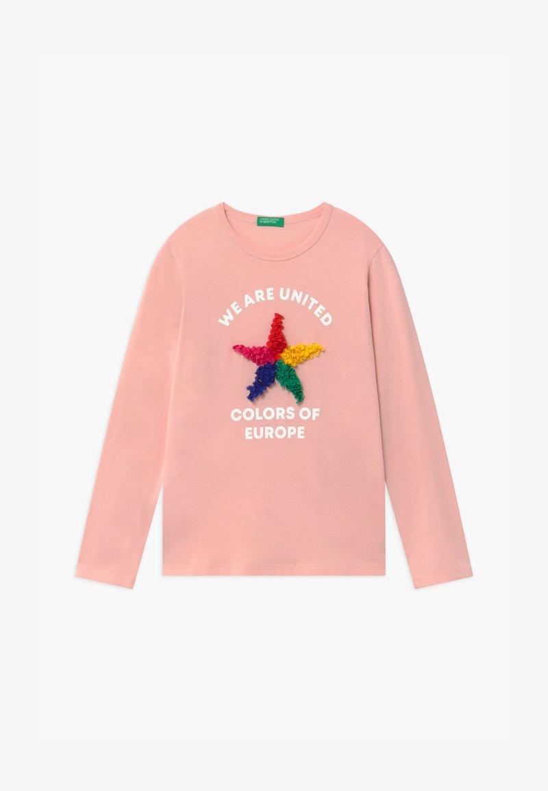 Benetton - FUNZIONE GIRL - Top sdlouhým rukávem - light pink