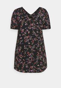 Pieces Curve - PCLALA DRESS  - Vestido informal - black - 6
