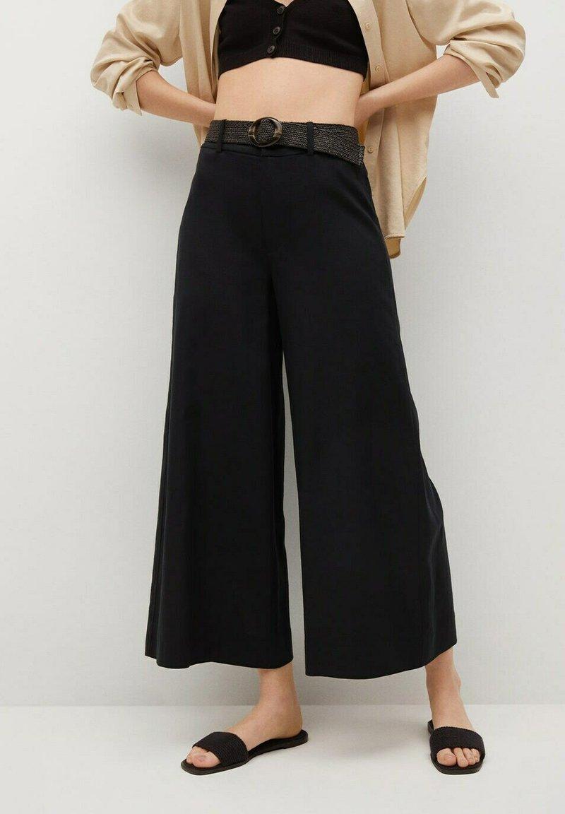 Mango - CEL - Trousers - noir