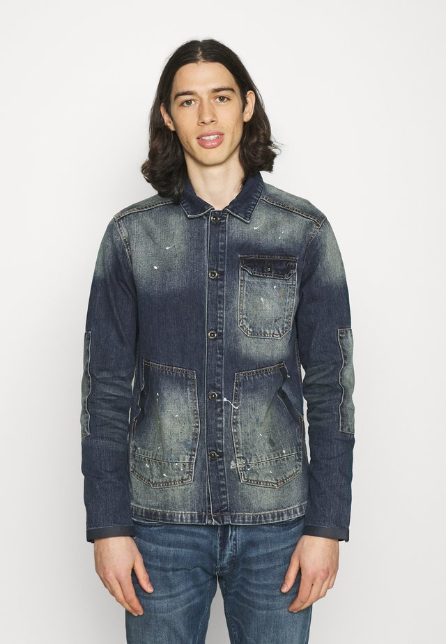 E-WORKER JACKET  - Veste en jean - blue