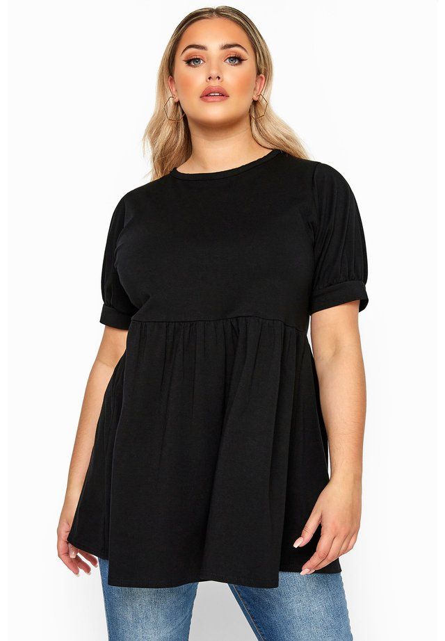 SMOCK - Print T-shirt - black