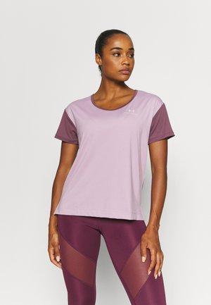 RUSH ENERGY NOVELTY - Print T-shirt - purple