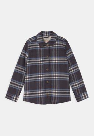 COZY - Light jacket - blue black plaid