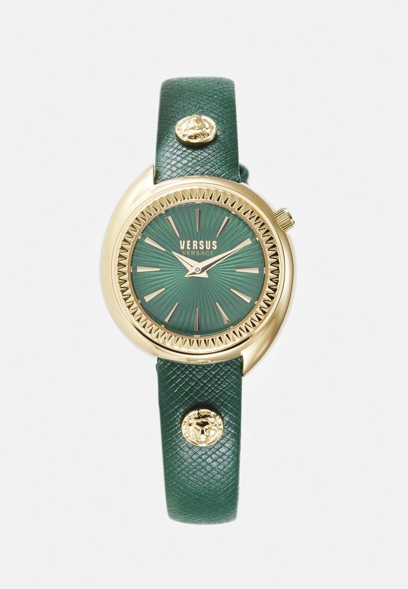 Versus Versace - TORTONA - Hodinky - gold-coloured/green