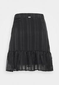 Guess - CHIKA SKIRT - Mini skirt - jet black - 6