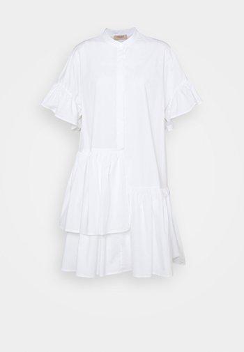 ABITO MORBIDO IN COMFORT - Shirt dress - bianco ottico