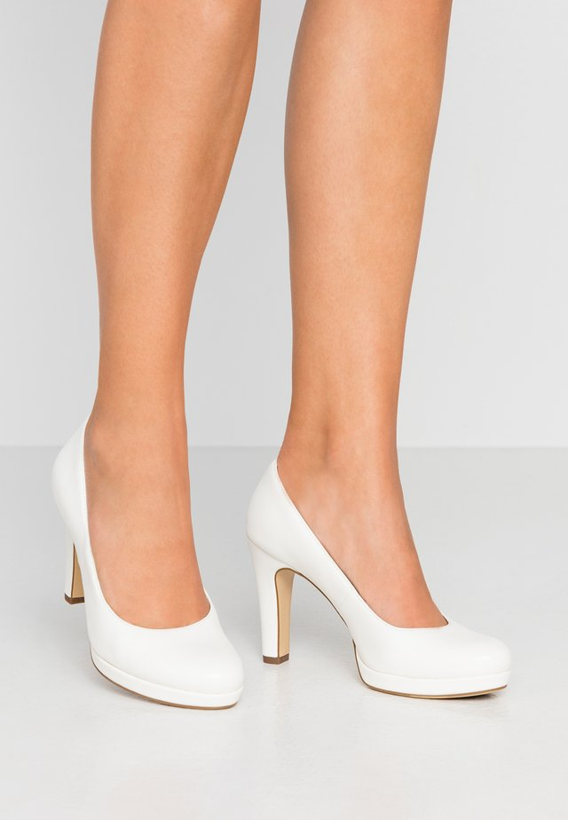 DA.-PUMPS - Korolliset avokkaat - white matt