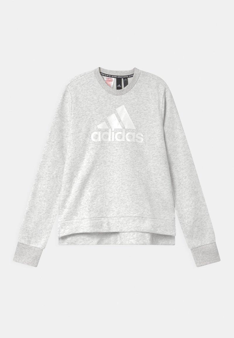 adidas Performance - CREW - Sweatshirt - light grey/silver