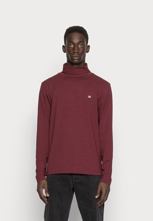 ROLL NECK LONG SLEEVE  - Long sleeved top - tawny port