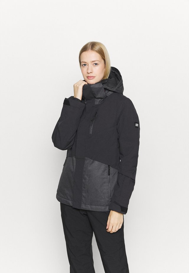 CORAL JACKET - Snowboardjacka - dark grey