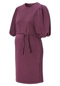 Supermom - SWEAT - Day dress - mauve wine - 4