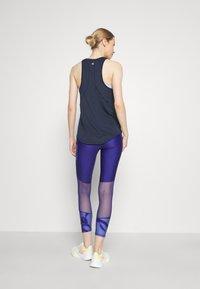 Sweaty Betty - ENERGISE WORKOUT - Funkční triko - navy blue - 2