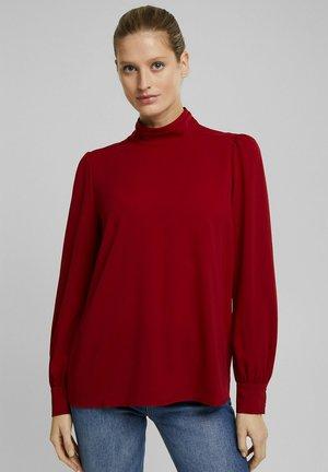 Blouse - dark red