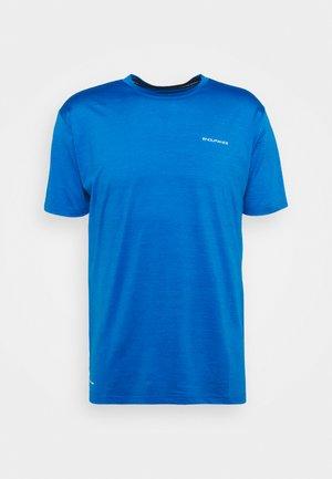 MELANGE TEE - Basic T-shirt - directoire blue