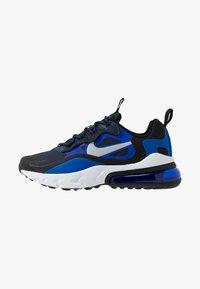 Nike Sportswear - AIR MAX 270 REACT - Sneakers basse - midnight navy/metallic silver/racer blue/black - 1