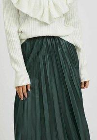 Vila - VINITBAN  - A-line skirt - darkest spruce - 3