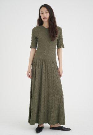 Maxi dress - beetle green