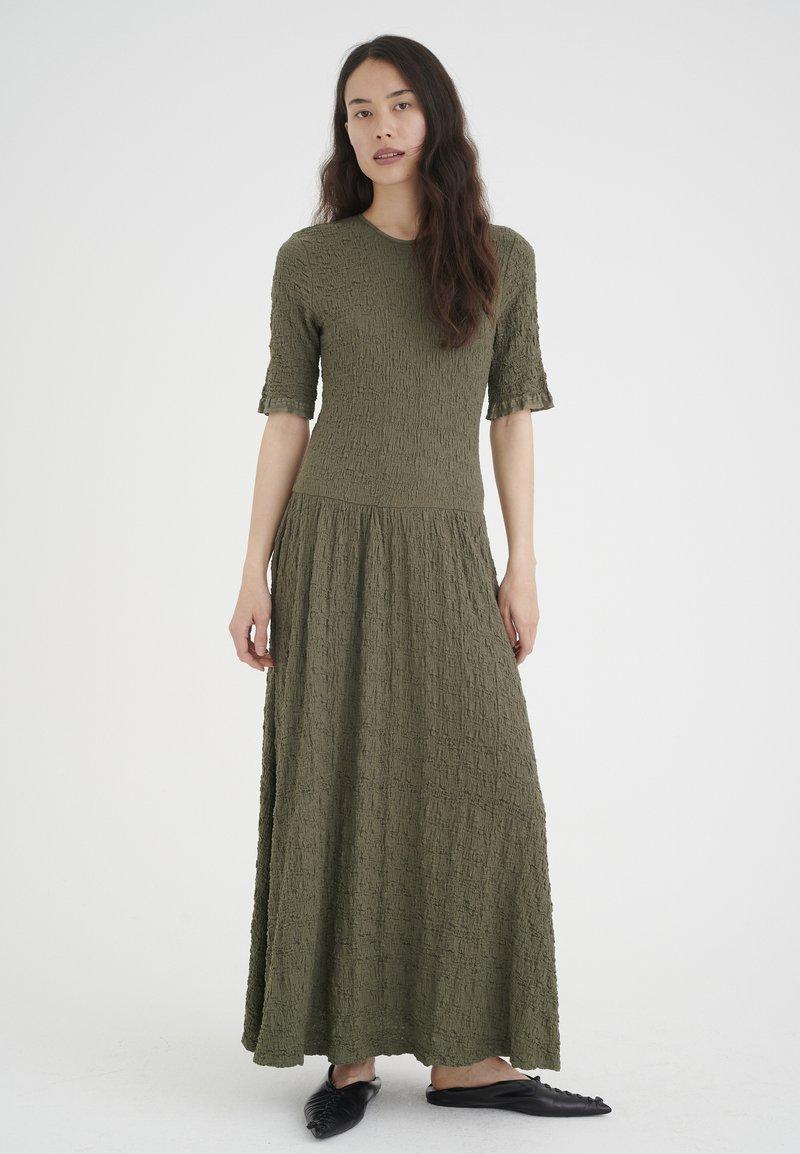 InWear - Maxi dress - beetle green