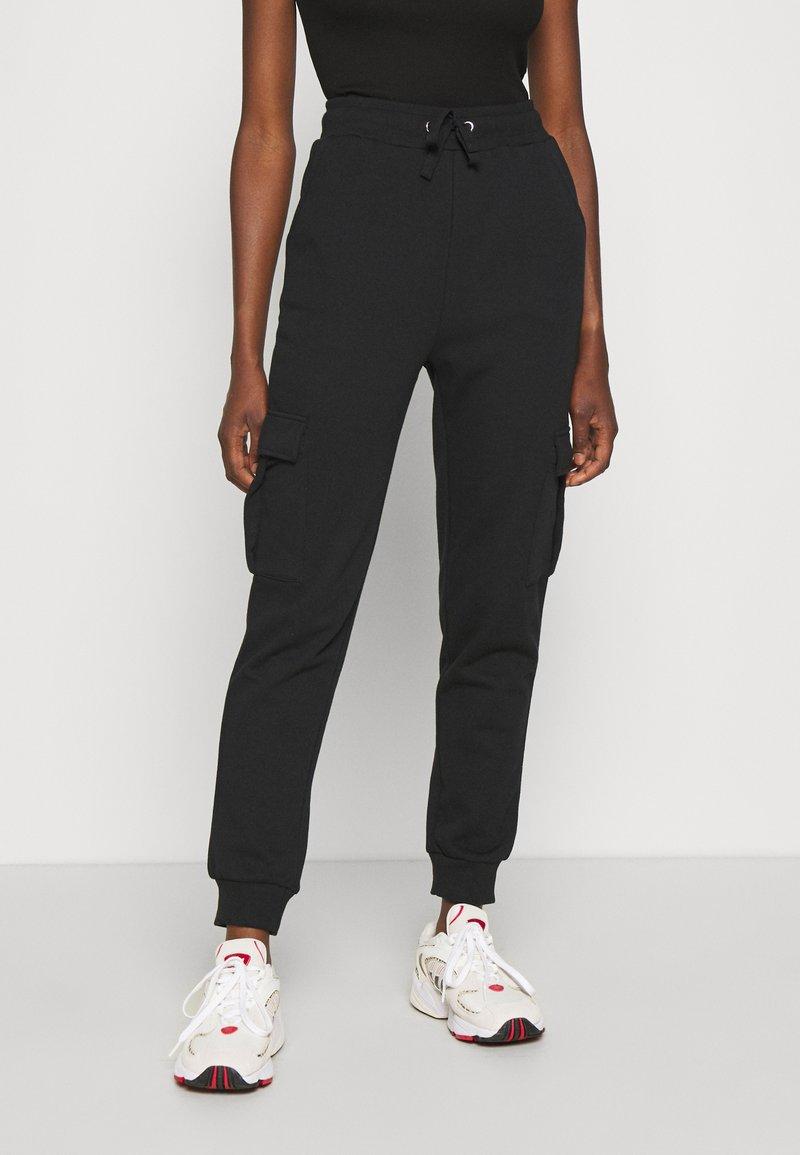 Even&Odd - Teplákové kalhoty - black