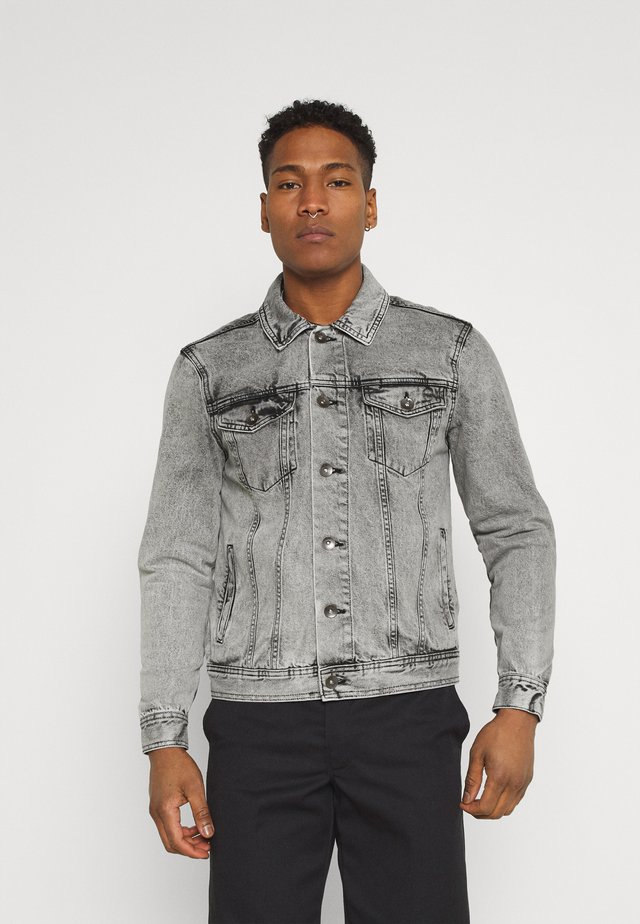MARC JACKET - Giacca di jeans - light grey