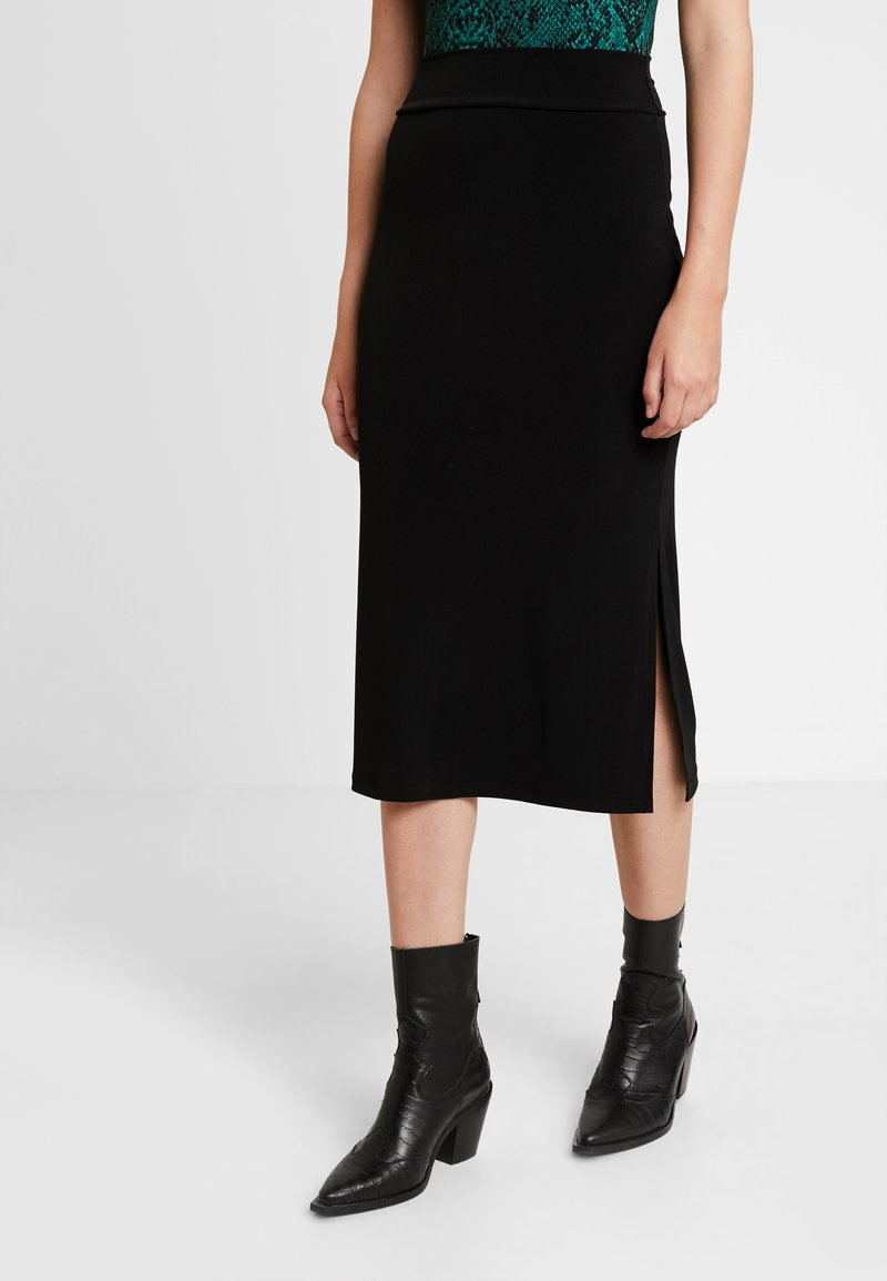 KIOMI - Maxi skirt - black