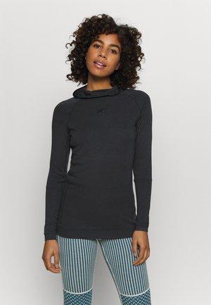 RULLE HOOD - Sports shirt - marin