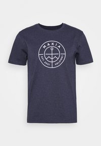 RE-SCOPE - T-shirt con stampa - navy