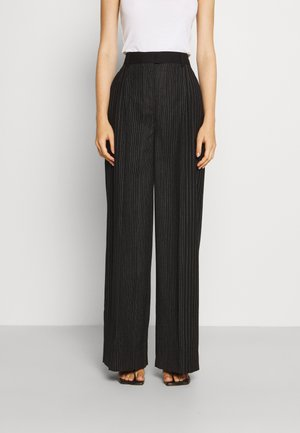 TROUSERS - Trousers - fantasy black