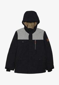 Quiksilver - RAFT YOUTH  - Snowboard jacket - black - 4