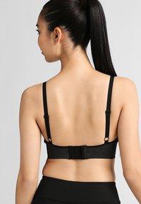 Boob - FAST FOOD - Triangle bra - black/grey - 0