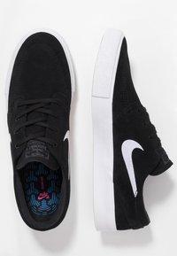 Nike SB - ZOOM JANOSKI - Sneakers laag - black/white/thunder grey/light brown/photo blue/hyper pink - 1
