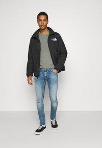 Nudie Jeans - TIGHT TERRY - Jeans Skinny Fit - mended ink - 1