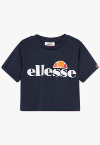 Ellesse - NICKY - Print T-shirt - navy - 0