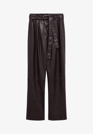 CHOCOLAT - Pantalon classique - marron