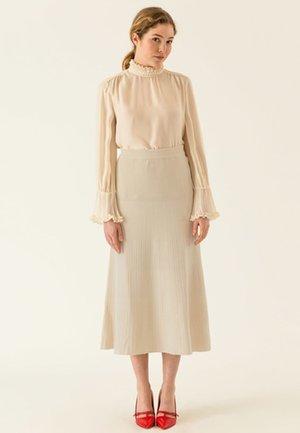Maxi skirt - light sand