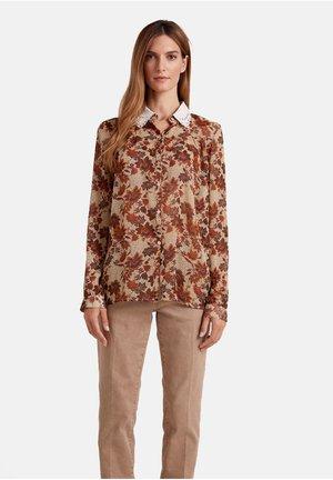 Button-down blouse - arancione