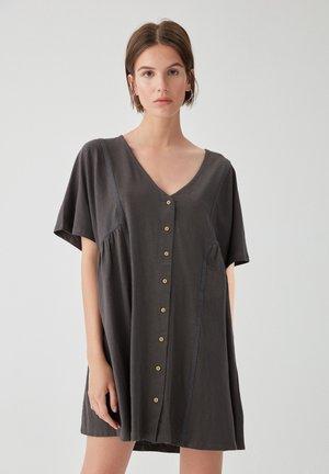 IN WICKELOPTIK 05391389 - Day dress - dark grey