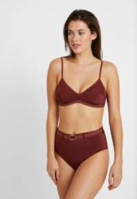 LOVE Stories - MOONFLOWER - Bikini bottoms - chocolat - 1