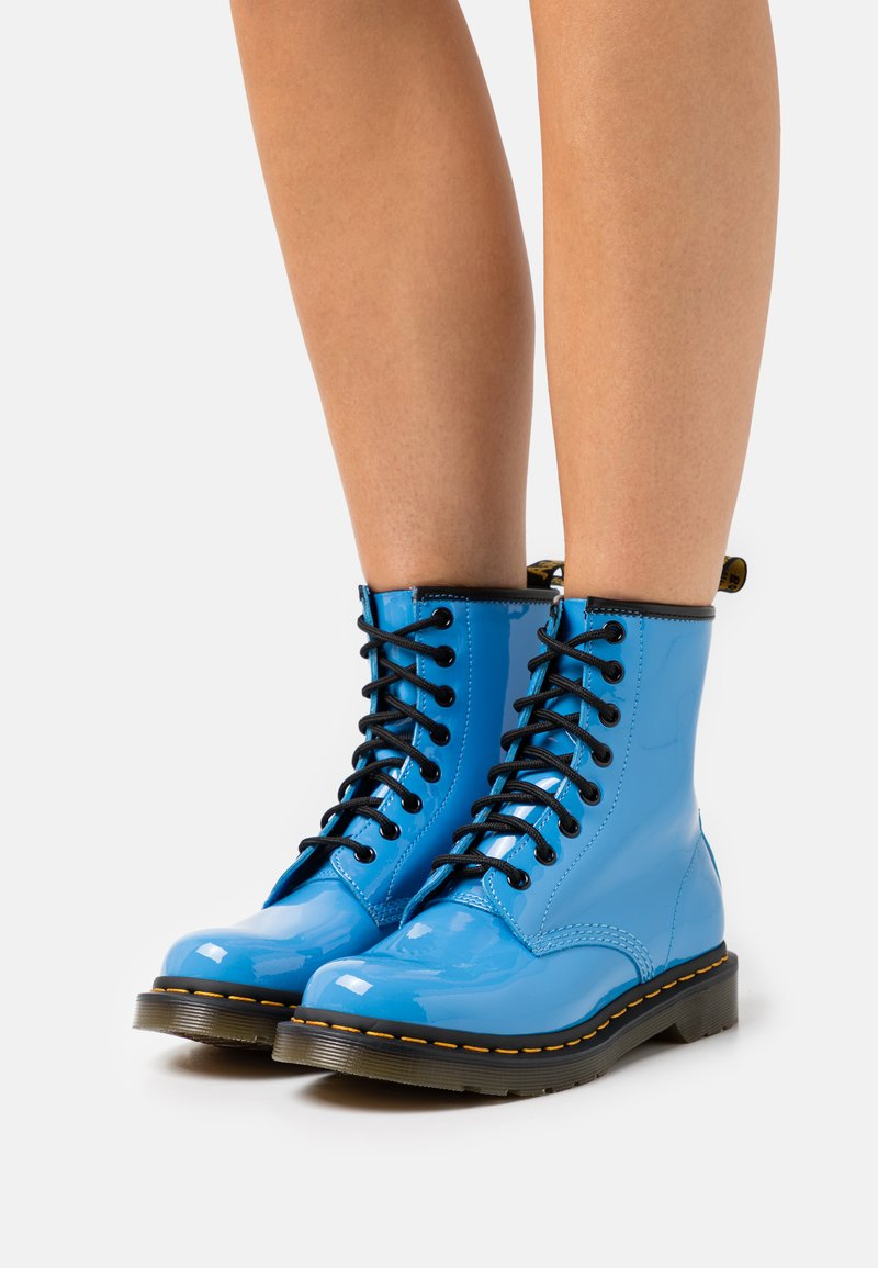 Dr. Martens - 1460  - Lace-up ankle boots - mid blue