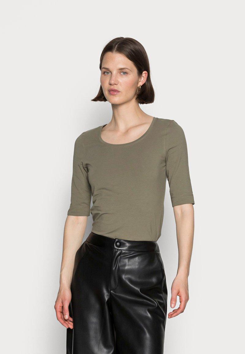 Opus - SANIKA  - Basic T-shirt - soft moss
