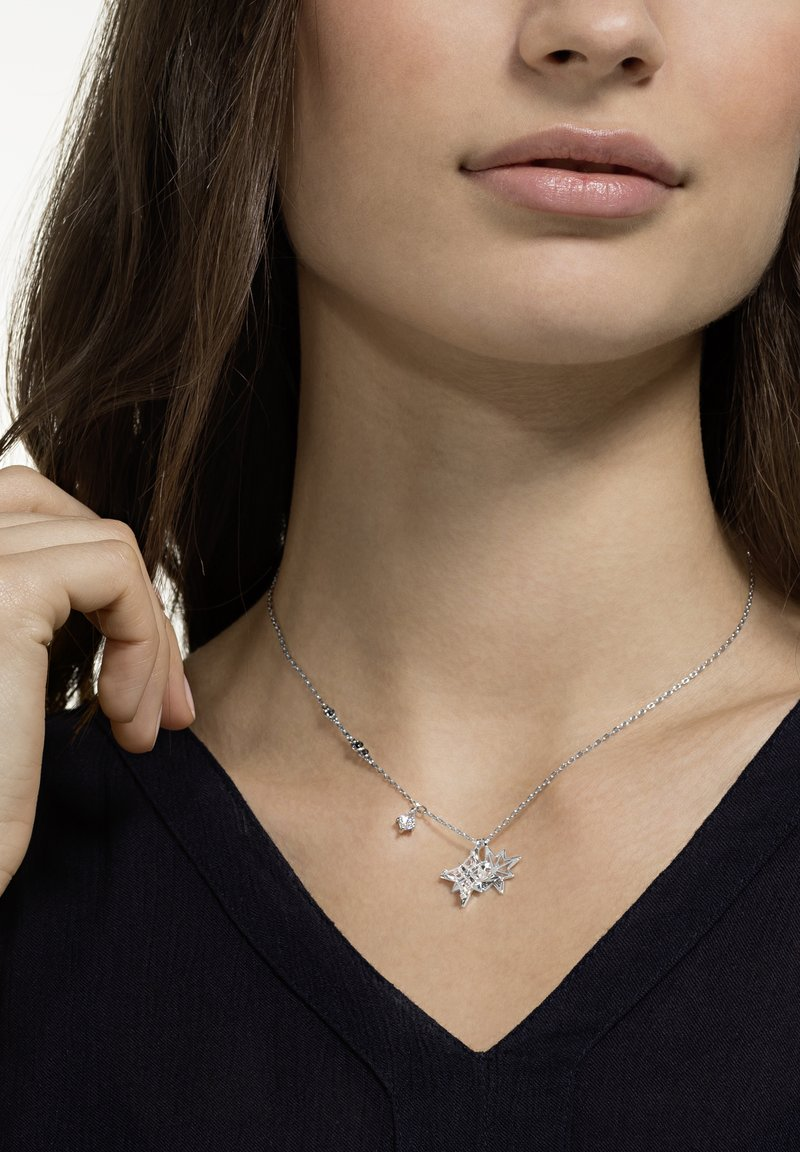 Swarovski - SYMBOL PENDANT STAR  - Necklace - silver-coloured