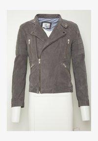 Serge Pariente - GLADATOR - Leather jacket - grey - 4